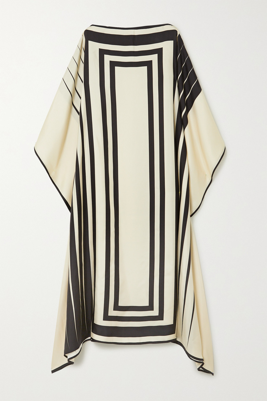 Louisa Parris Lucas printed silk-twill maxi dress