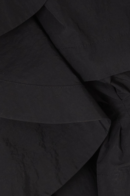 MINJUKIM Ruffled taffeta peplum jacket