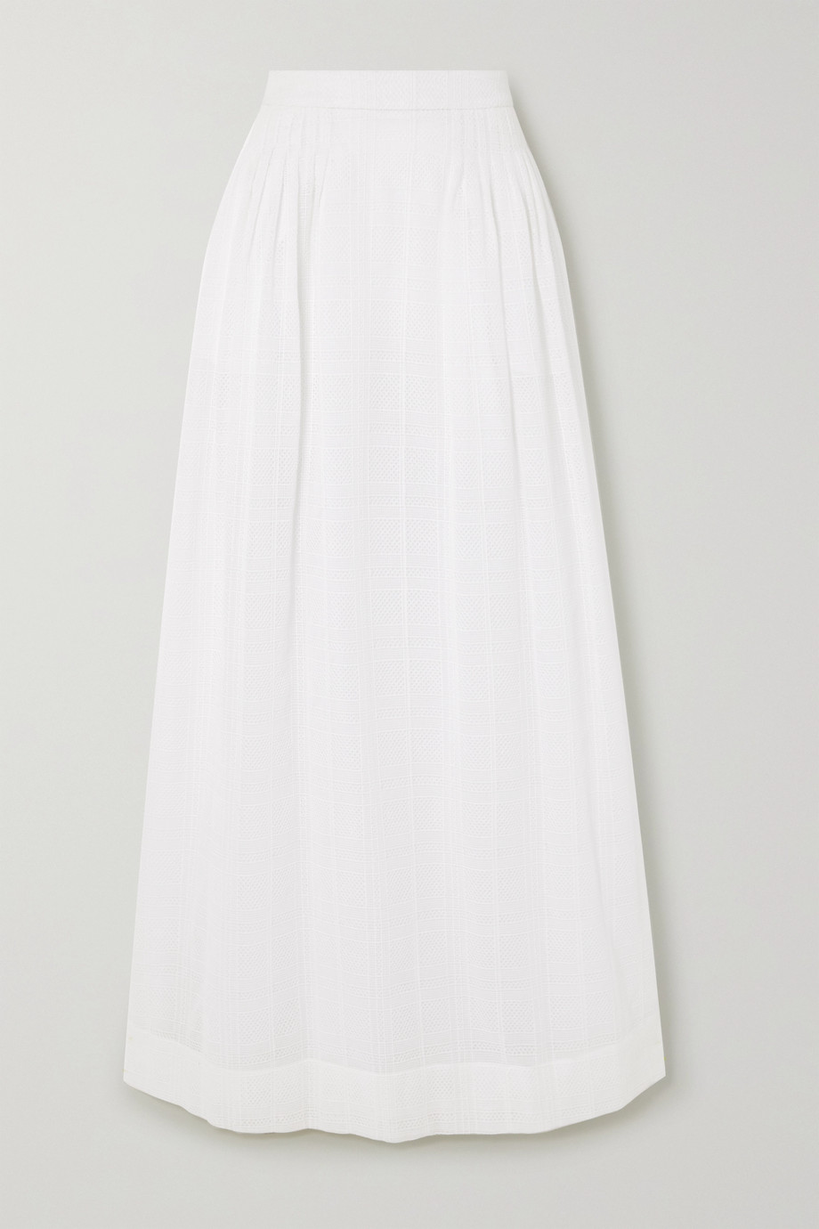 MINJUKIM Crocheted cotton maxi skirt