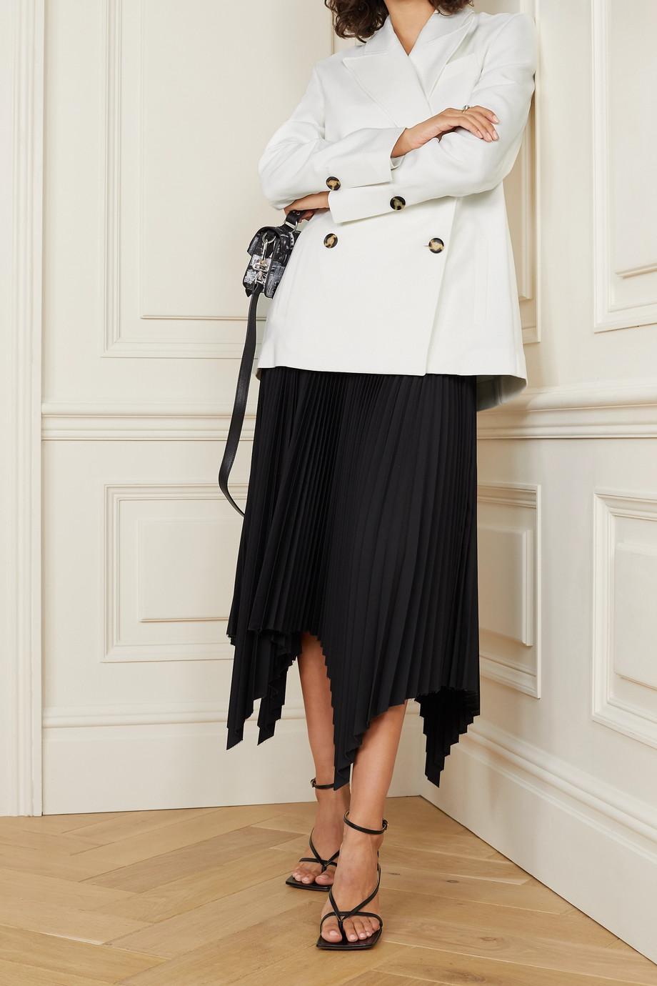 Proenza Schouler Double-breasted crepe blazer