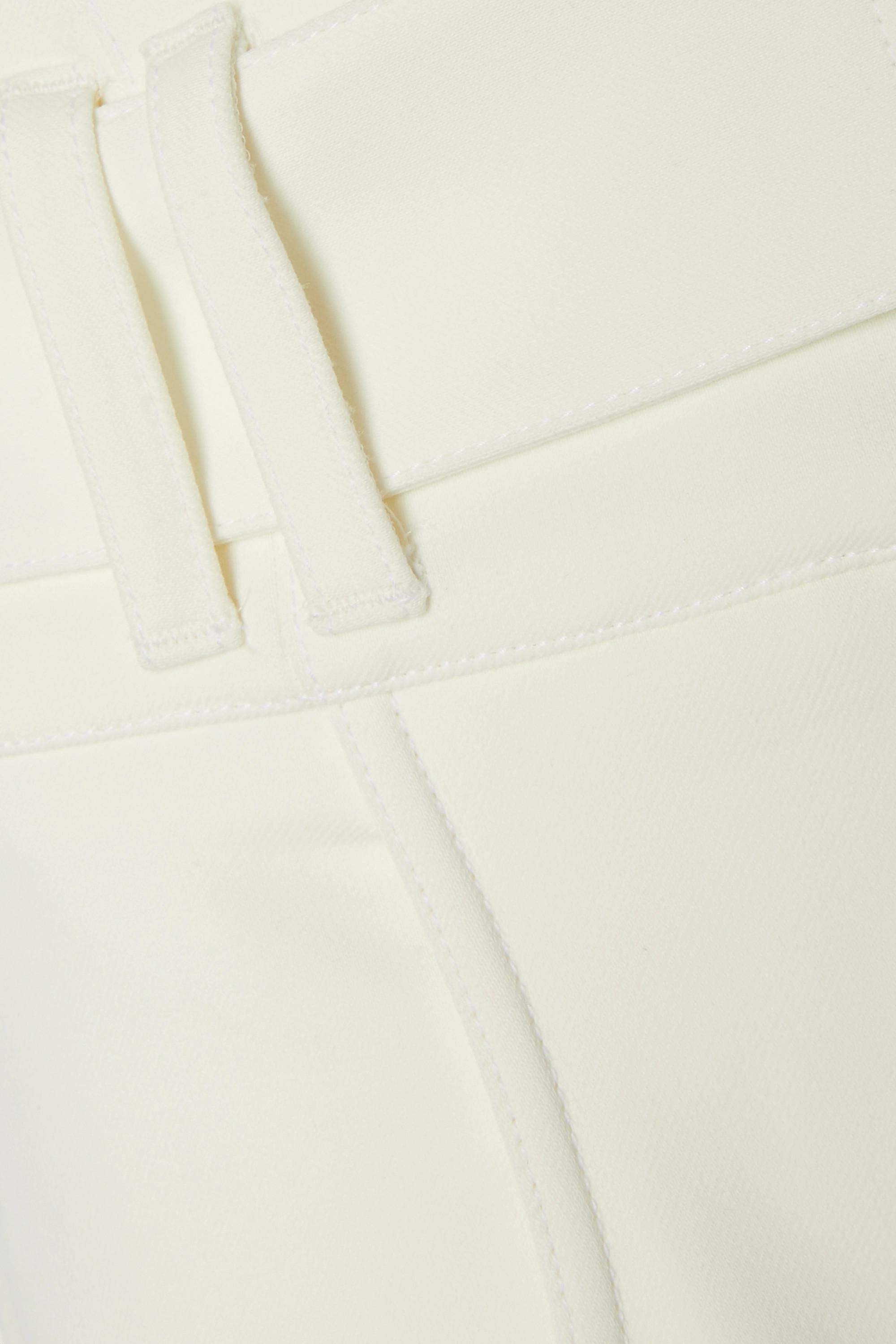 Proenza Schouler Belted crepe shorts