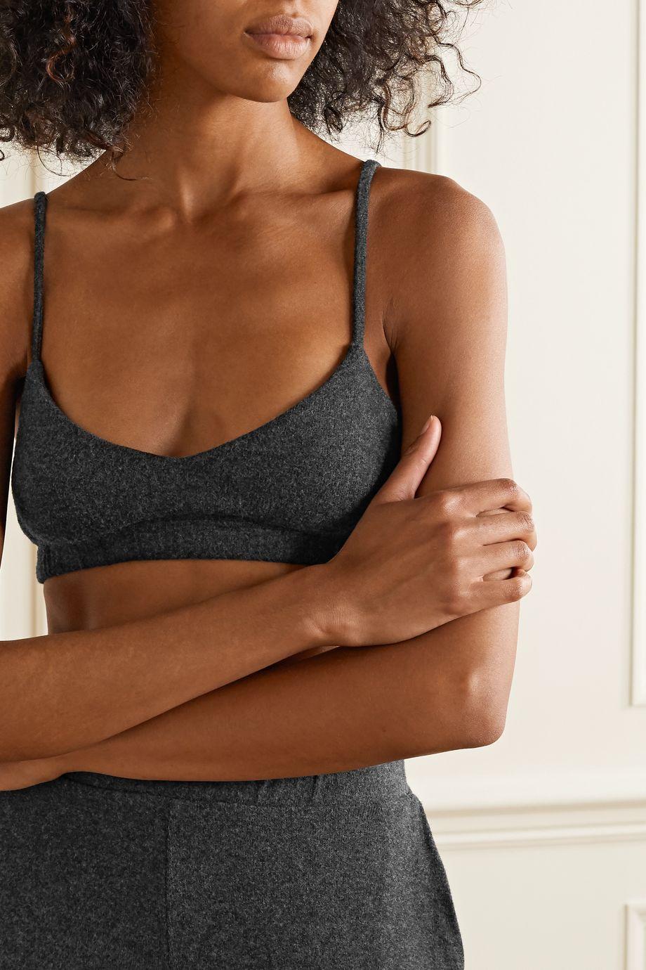 LESET Stretch-jersey soft-cup bra