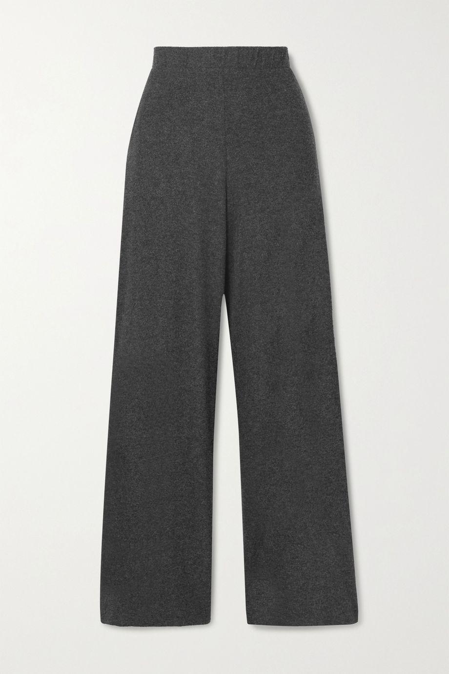 LESET Stretch-jersey wide-leg pants