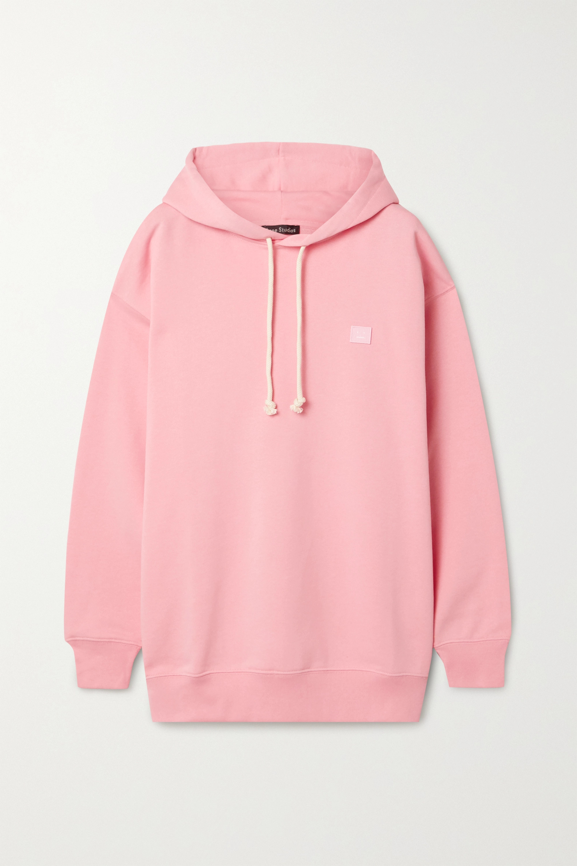 Acne Studios Appliquéd cotton-jersey hoodie