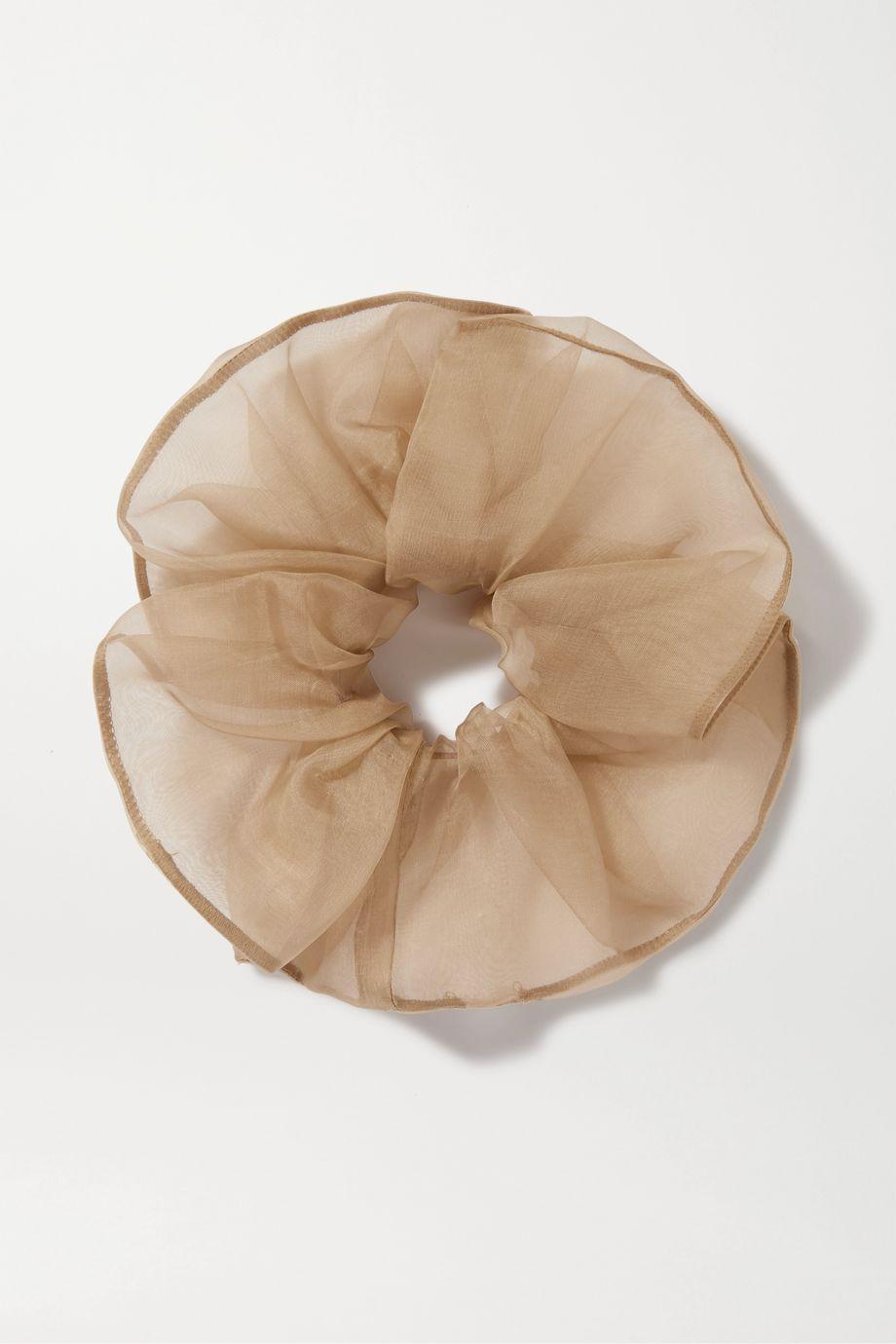 Sophie Buhai Silk-organza scrunchie