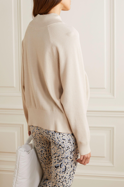 Varley Maceo 2.0 Sweatshirt aus Baumwoll-Piqué