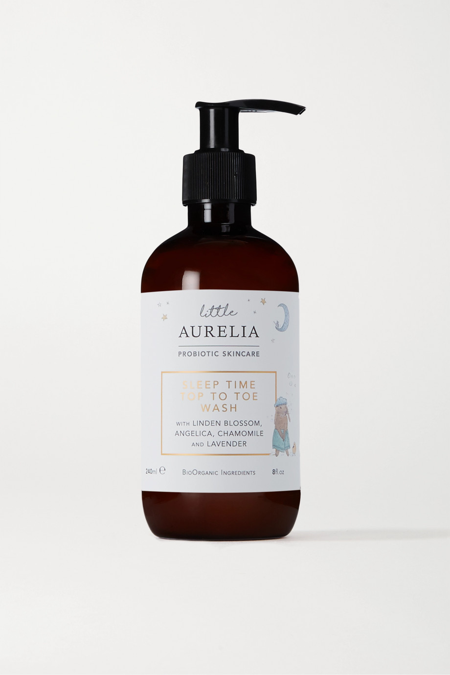 Aurelia Probiotic Skincare Little Aurelia Sleep Time Top to Toe Wash, 240ml