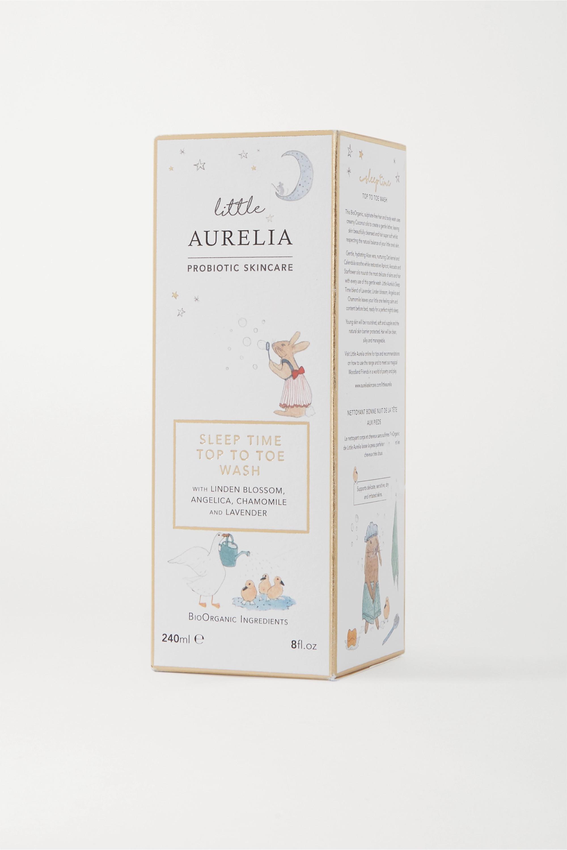 Aurelia Probiotic Skincare Little Aurelia Sleep Time Top to Toe Wash, 240 ml – Waschgel für Kinder