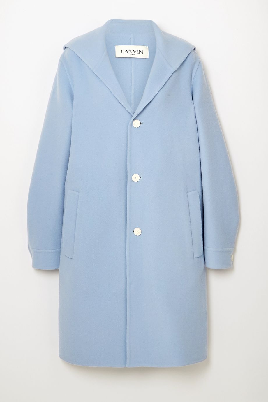 Lanvin Wool and cashmere-blend coat