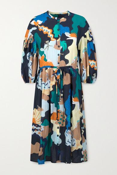 Stine Goya INDIA PRINTED VOILE DRESS