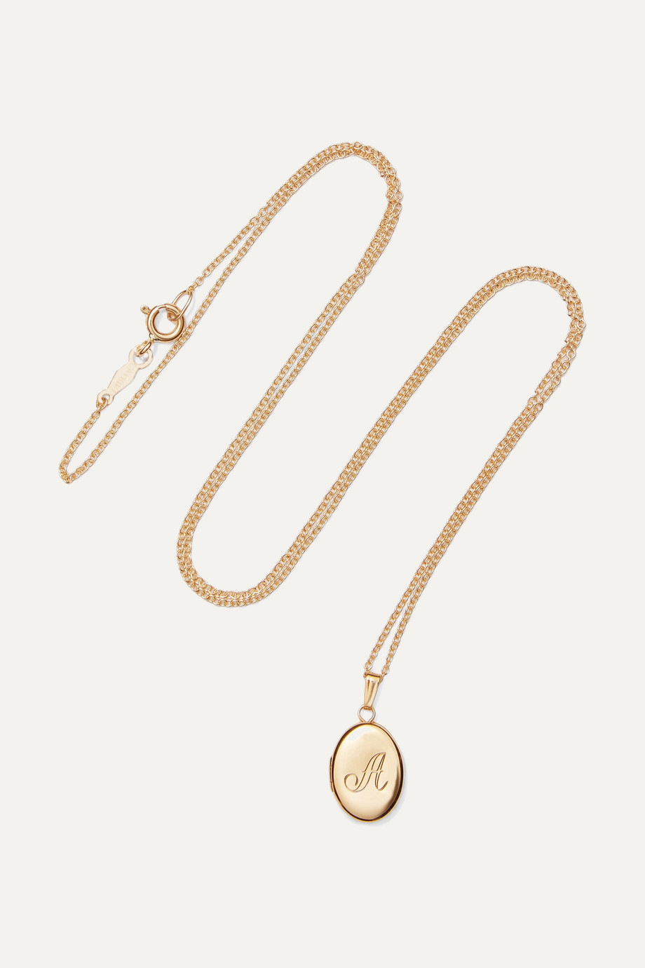 Catbird + NET SUSTAIN Dollhouse 14-karat gold necklace