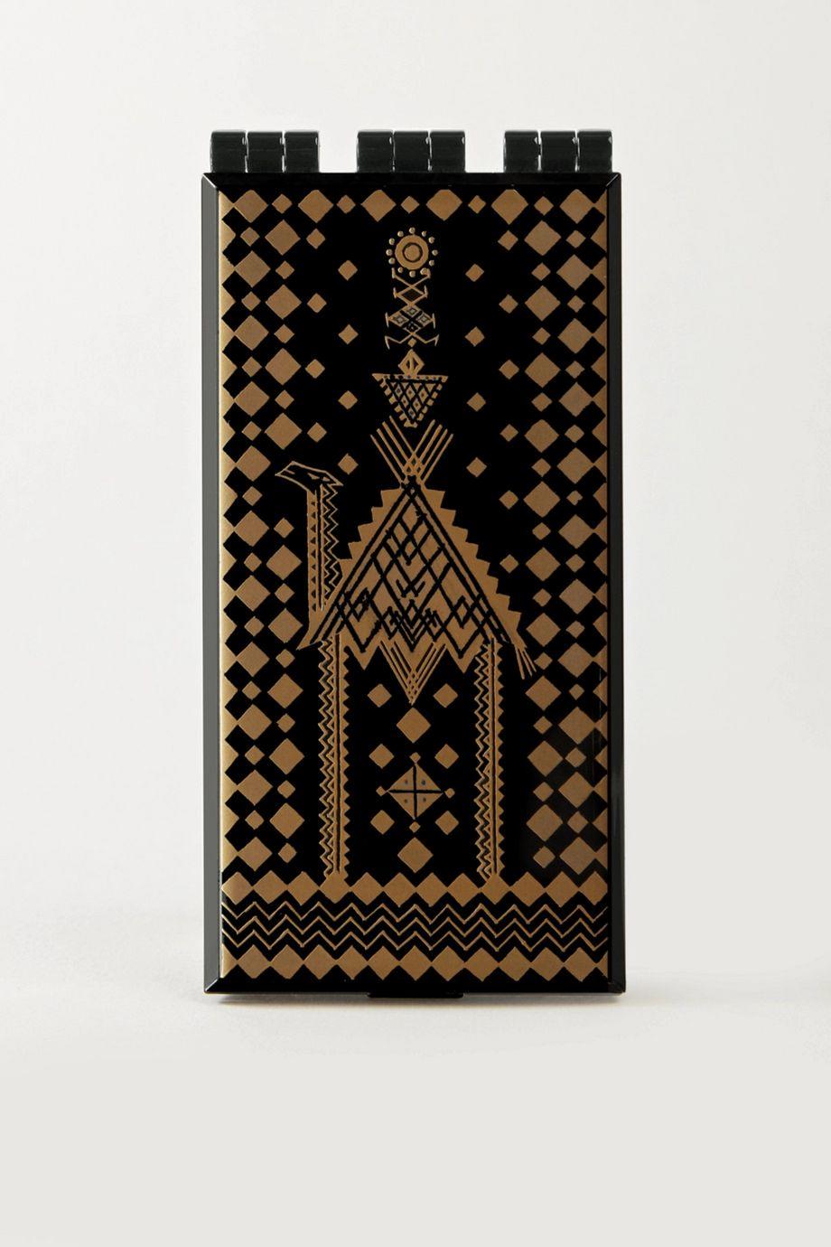 Serge Lutens Lacquered Powder Case – Gold/Black – Puderdose