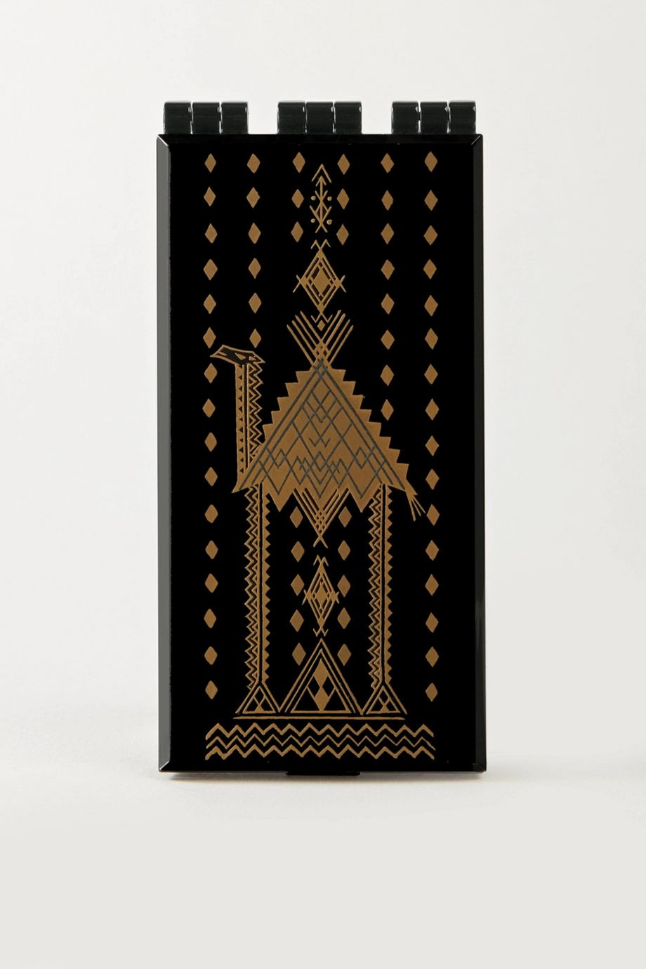 Serge Lutens Lacquered Powder Case – Black/Gold – Puderdose