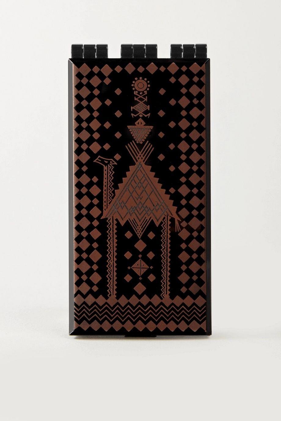 Serge Lutens Lacquered Powder Case – Bronze/Black – Puderdose