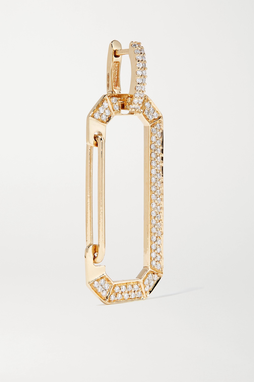EÉRA Chiara 18-karat gold diamond earring