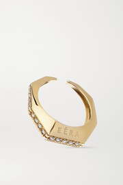 EÉRA Sabrina 18-karat gold diamond ear cuff