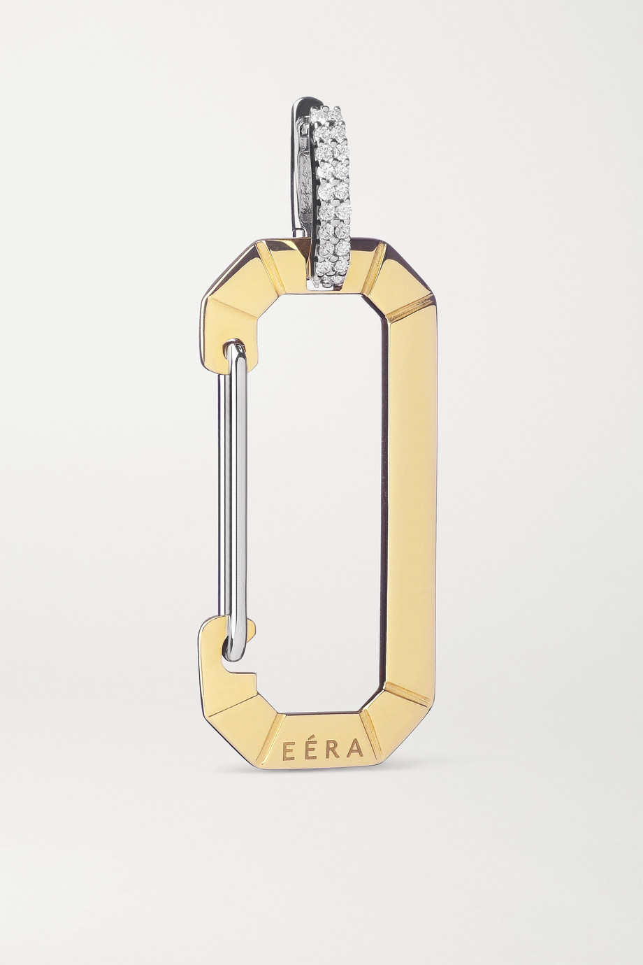 EÉRA Chiara 18-karat yellow and white gold diamond earring