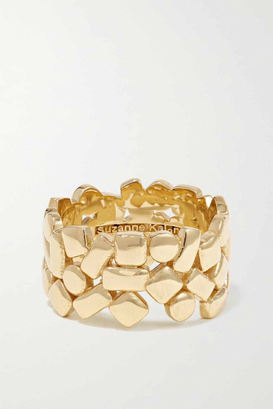 Suzanne Kalan 18-karat gold ring