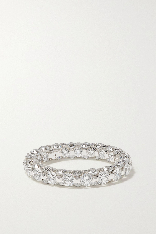 Boghossian Merveilles Eternity 18-karat white gold diamond ring