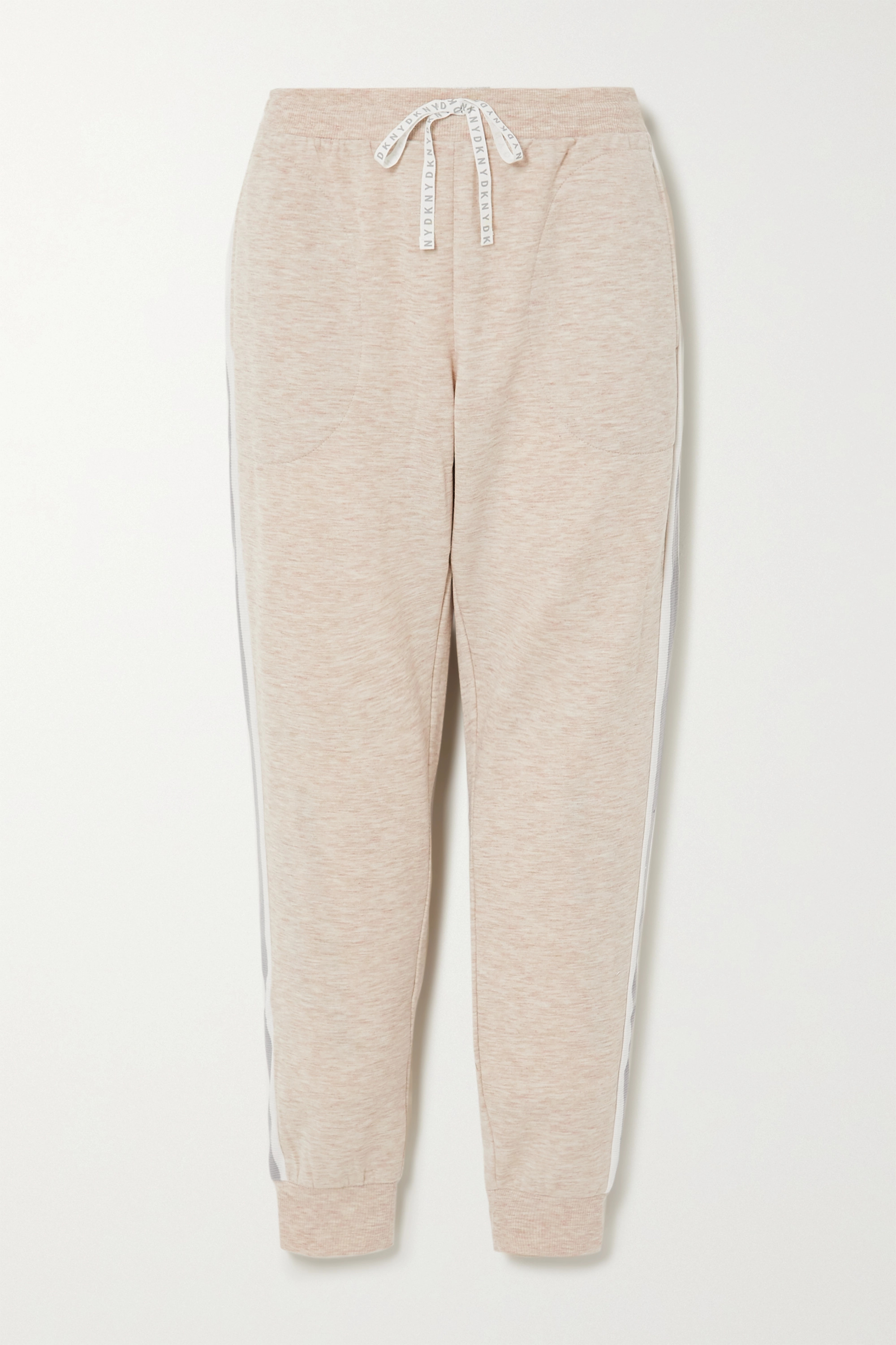 DKNY Color-block stretch-jersey track pants