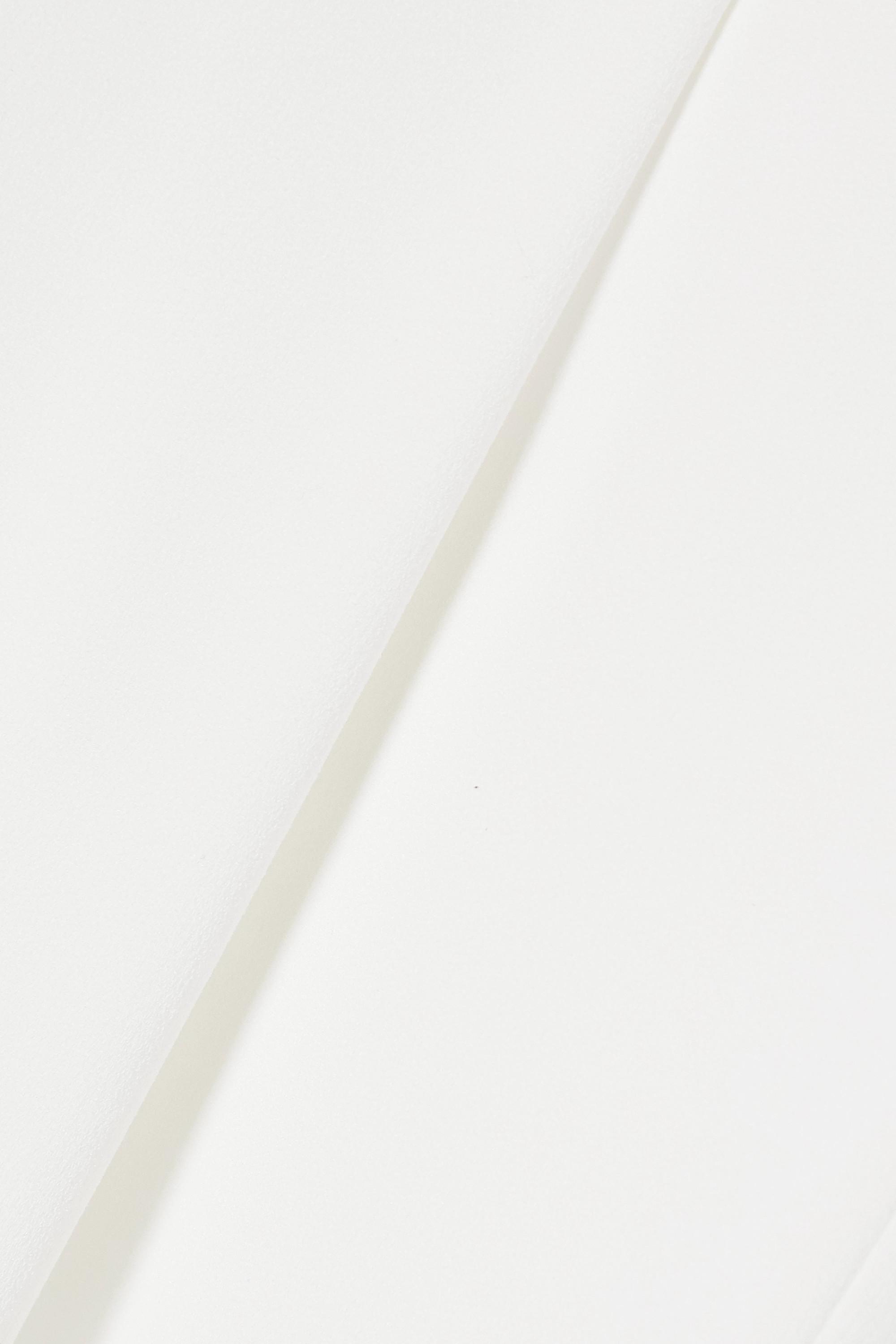 Galvan Eng geschnittene Hose aus Stretch-Crêpe