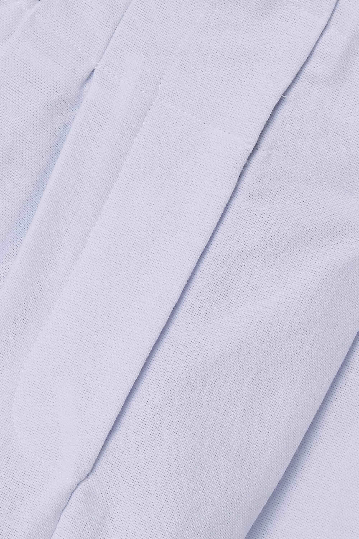 Rue Mariscal Pantalon fuselé en toile de coton à plis