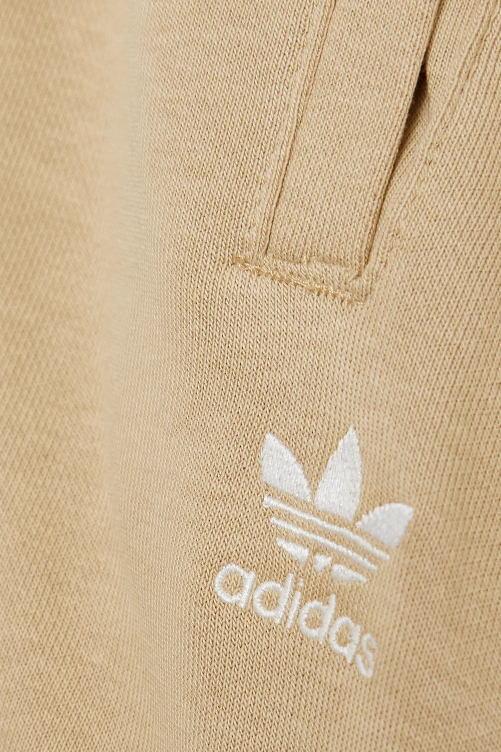 adidas Originals French cotton-blend terry track pants