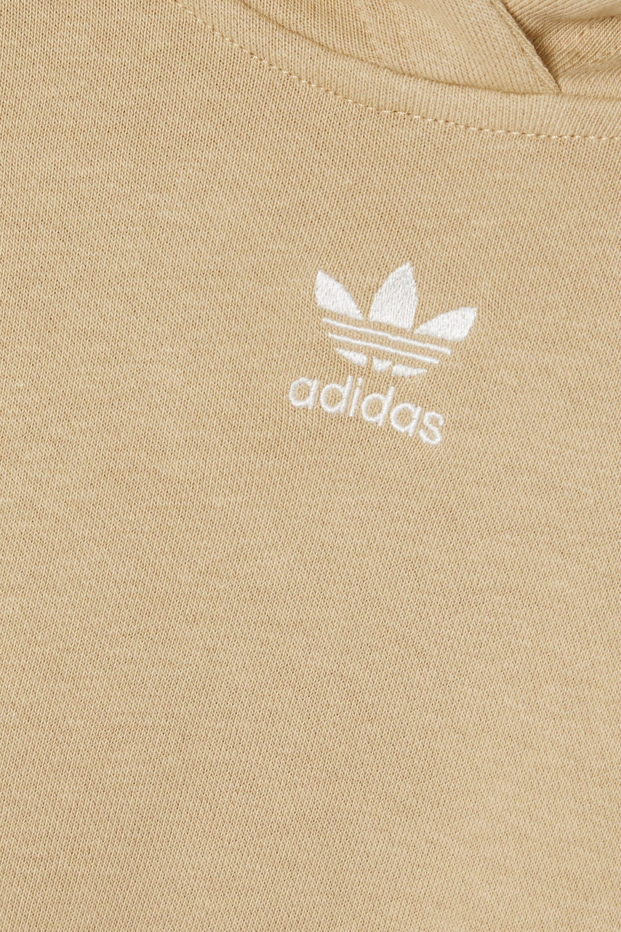 adidas Originals Hoodie aus Frottee aus einer Baumwollmischung