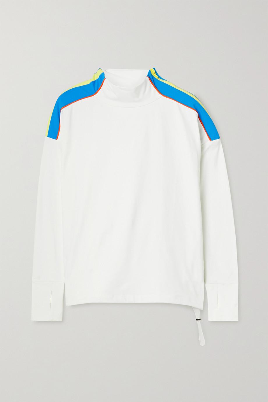 L'Etoile Sport Sweatshirt aus Stretch-Jersey