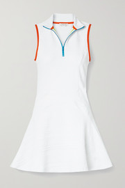 L'Etoile Sport Textured stretch-jersey tennis dress