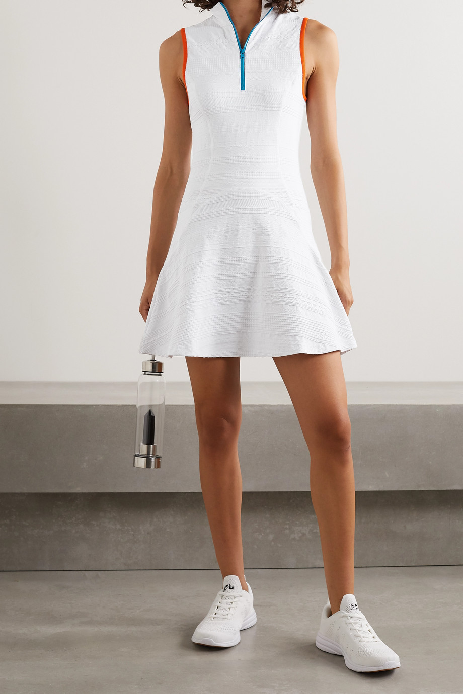 L'Etoile Sport Tenniskleid aus strukturiertem Stretch-Jersey