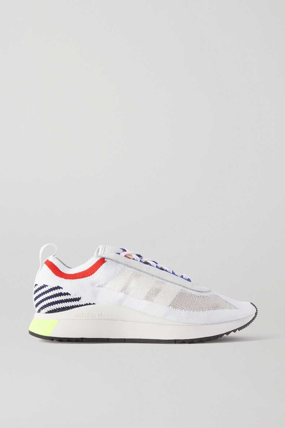 adidas Originals SL Andridge leather-trimmed Primeknit sneakers