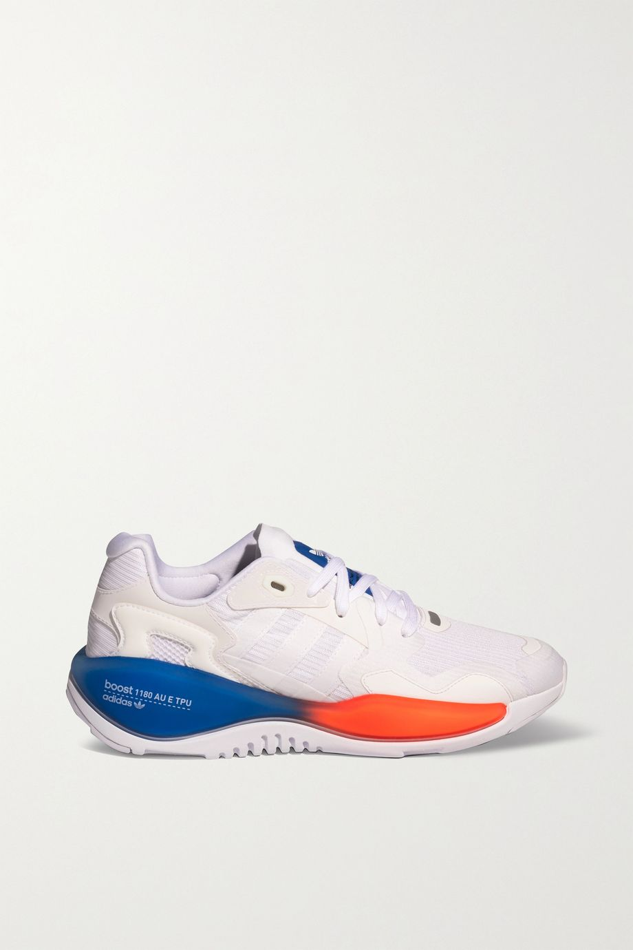 adidas Originals ZX Alkyne 皮革网眼运动鞋