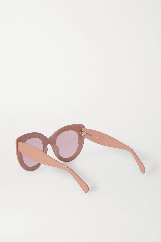 Alaïa Cat-eye acetate sunglasses