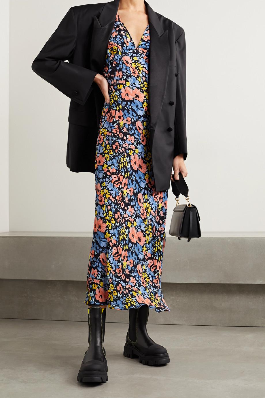 RIXO Sandrine floral-print crepe maxi dress
