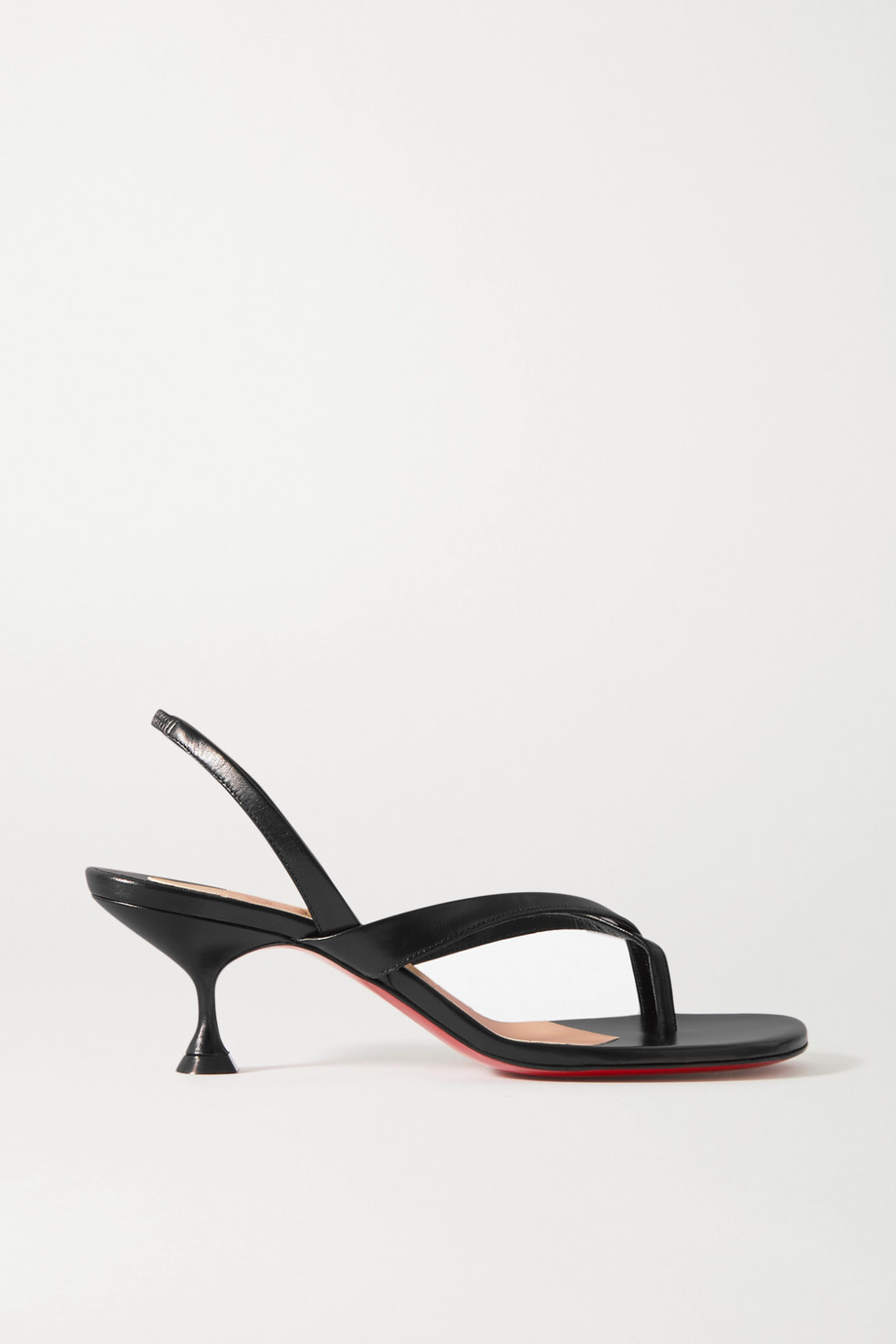 Christian Louboutin Taralita 55 leather slingback sandals