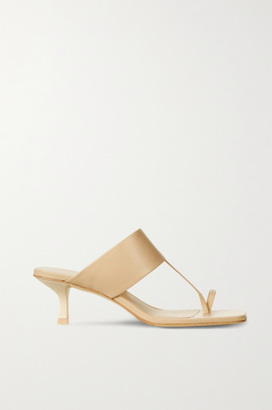 Cult Gaia Yvette leather mules
