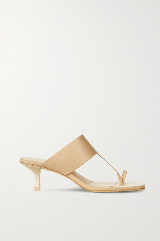 Cult Gaia Yvette 皮革穆勒鞋