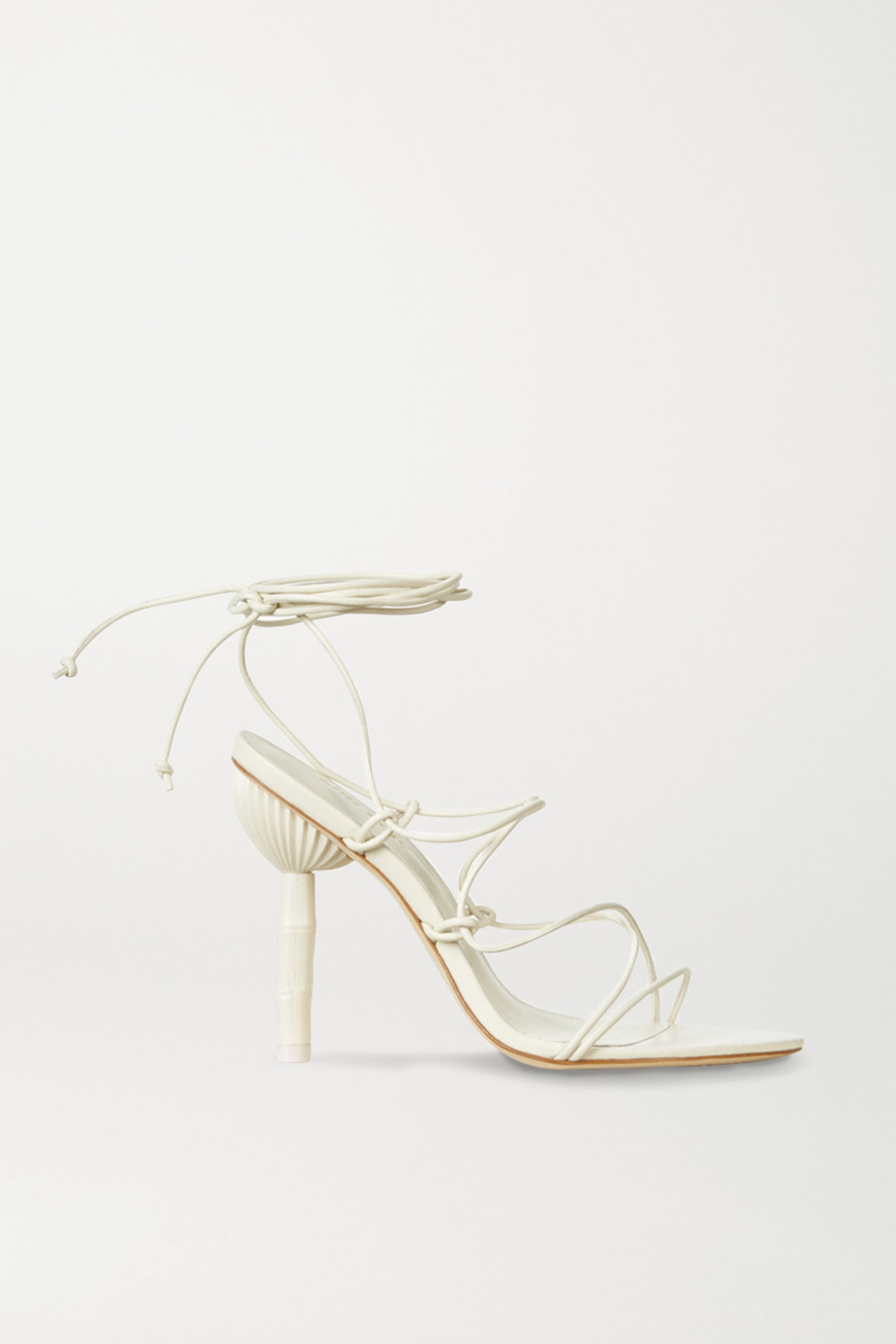 Cult Gaia Soleil leather sandals