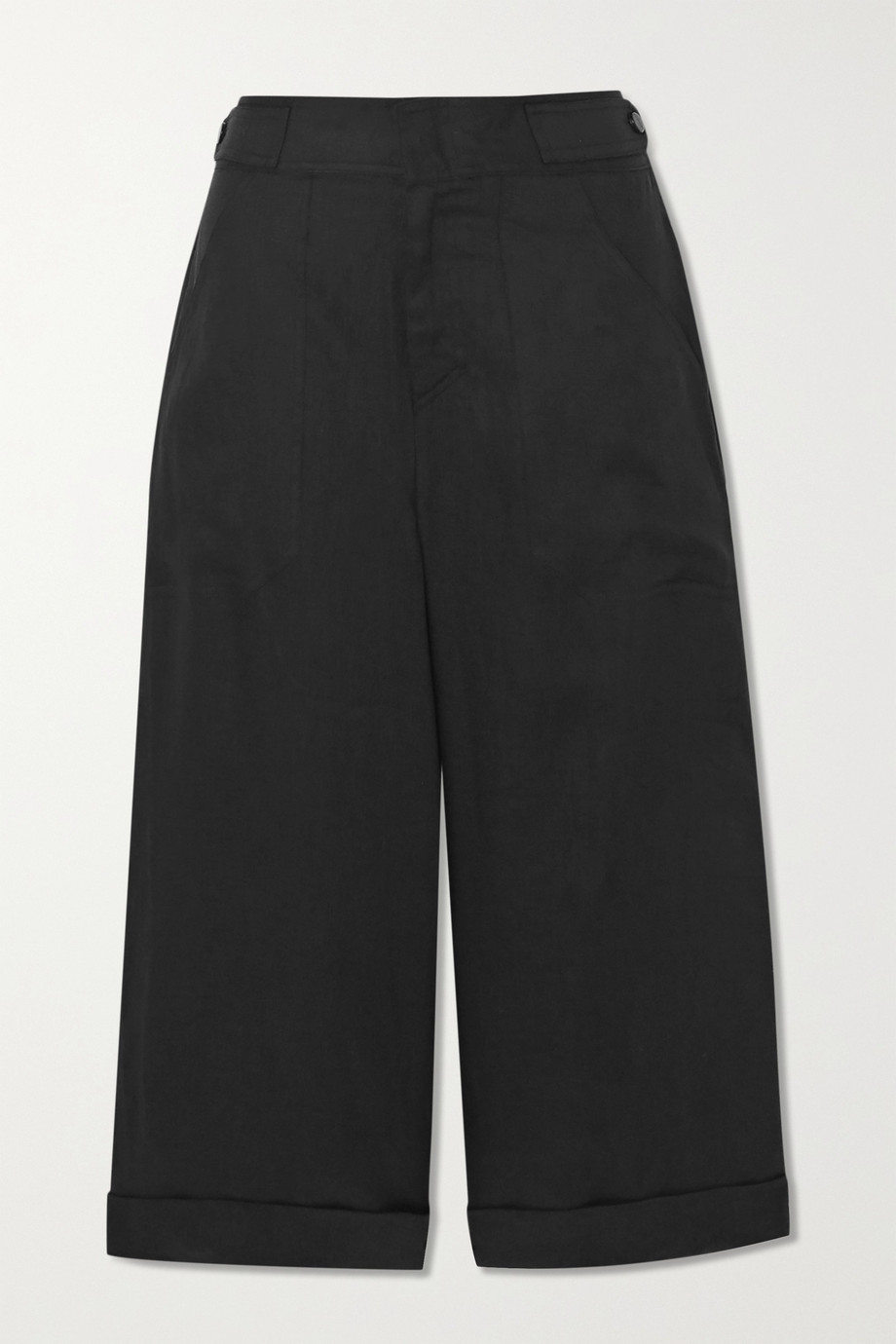 EQUIPMENT Kalil cropped linen pants