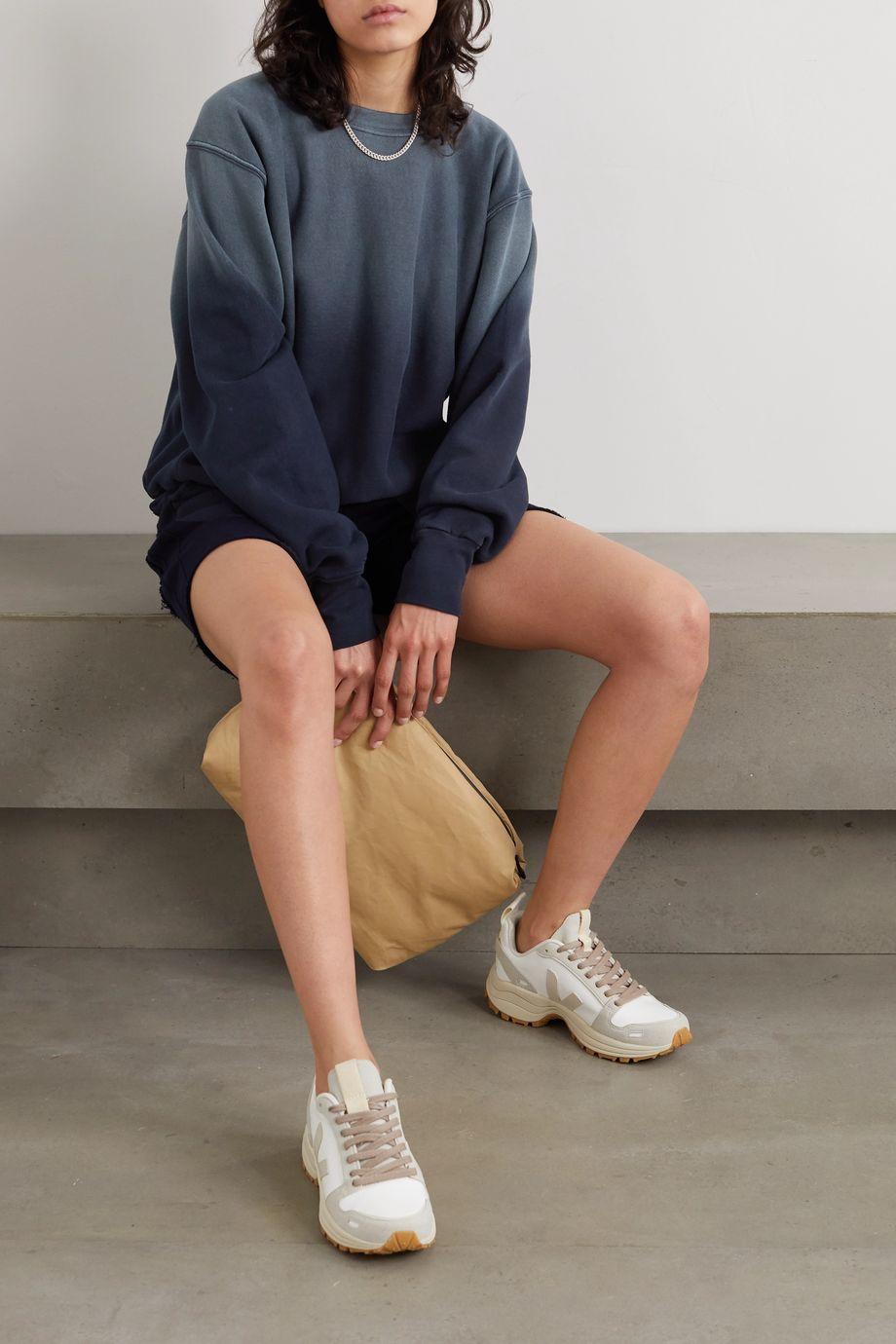 Les Tien Ombré cotton-jersey sweatshirt