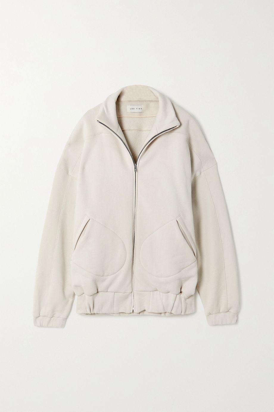 Les Tien Cotton-jersey track jacket