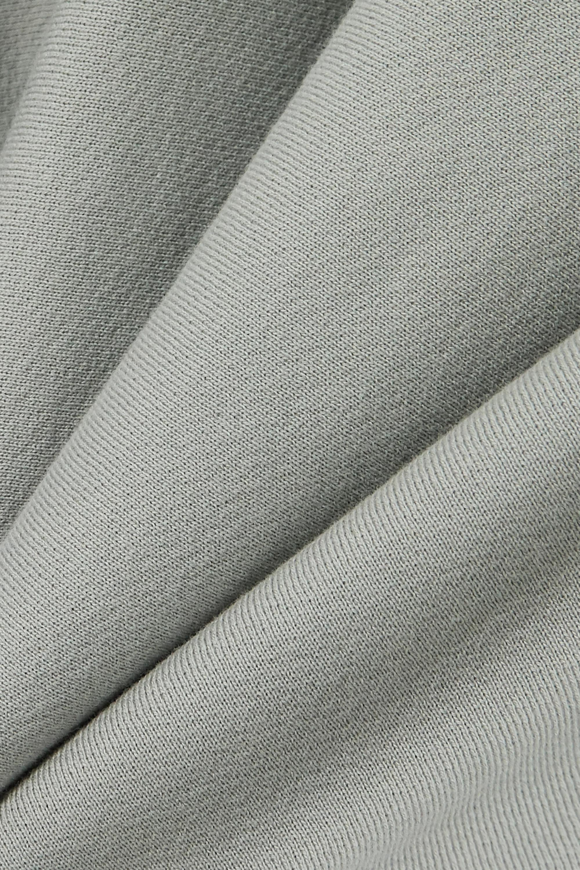 Gris Sweat En Jersey De Coton | Les Tien