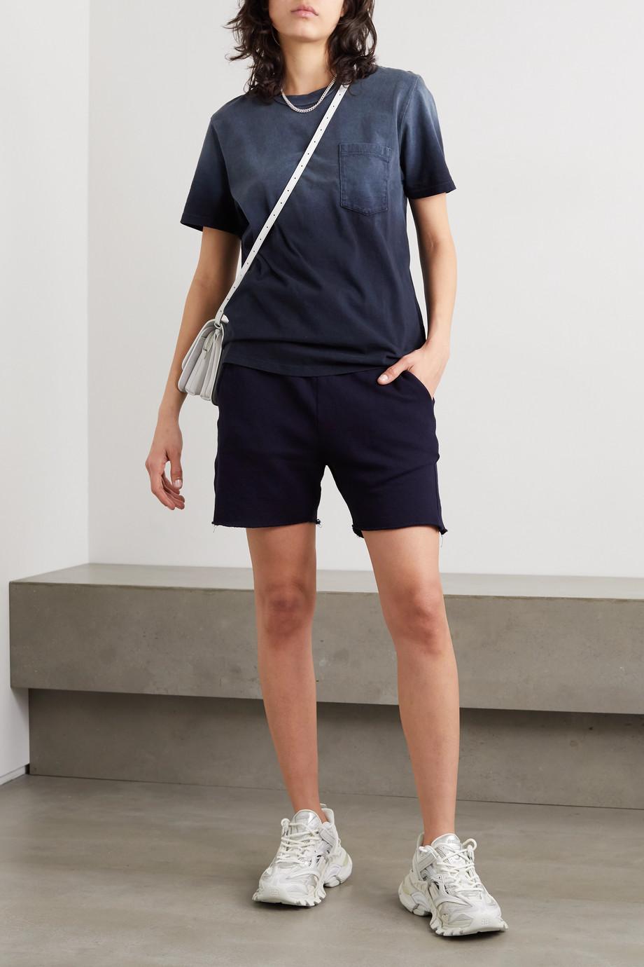 Les Tien Ombré cotton-jersey T-shirt