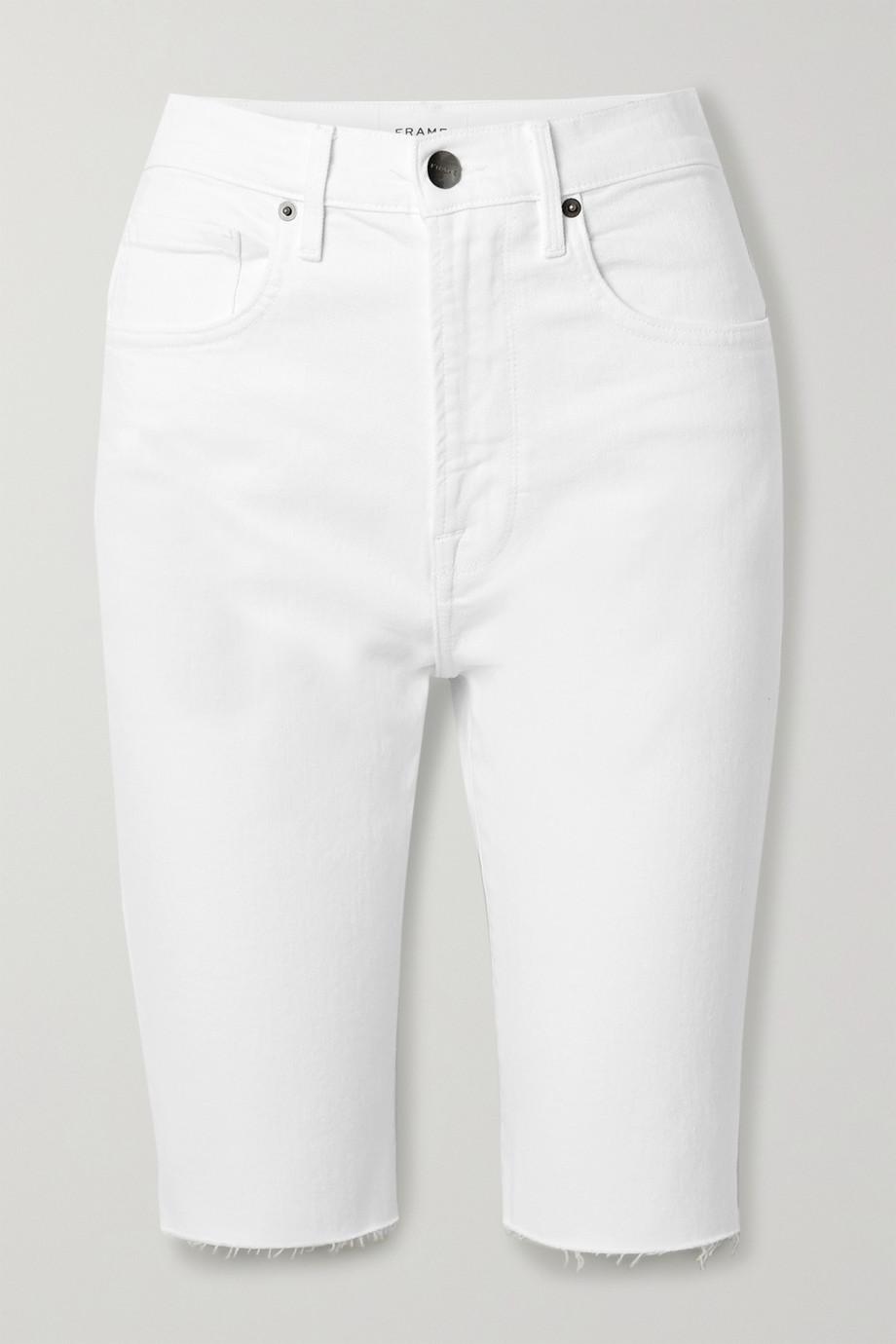 FRAME Short en jean effilé Le Vintage Bermuda