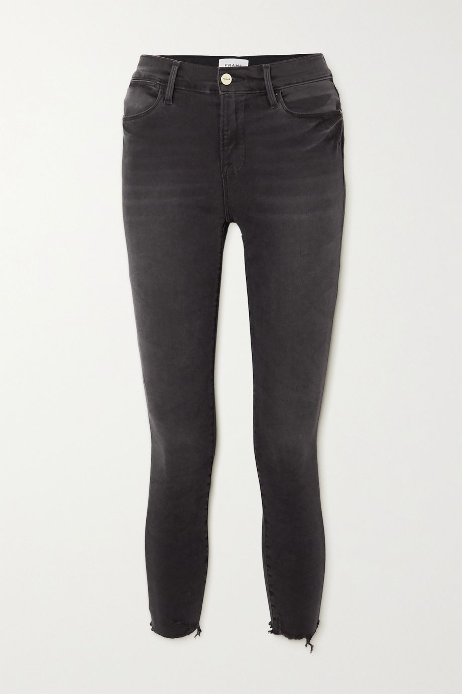 FRAME Le High Raw skinny jeans
