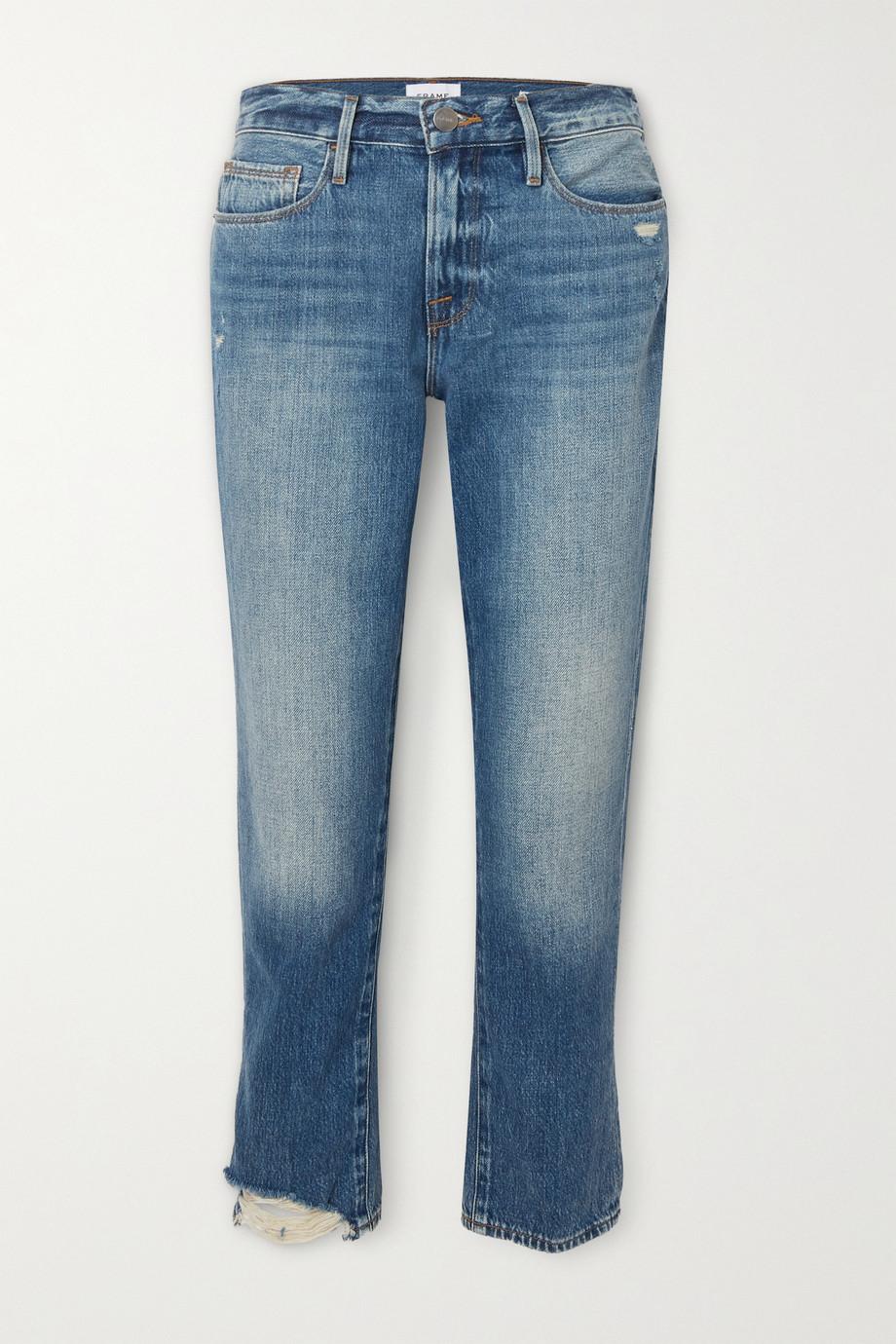FRAME Le Nouveau high-rise straight-leg jeans