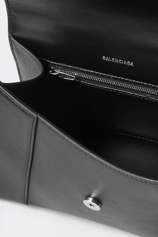 Balenciaga Hourglass small textured-leather tote