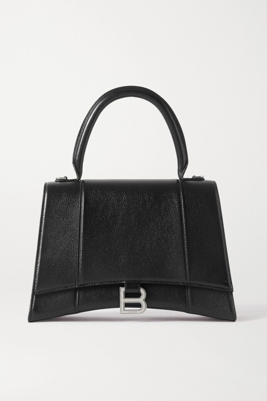Balenciaga Hourglass medium textured-leather tote