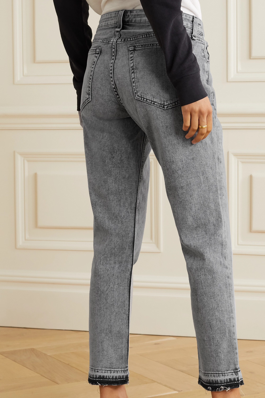 rag & bone Dre Boyfriend-Jeans in Distressed-Optik